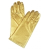 Gloves Metallic Gold